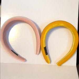 NWOT Handmade padded headbands
